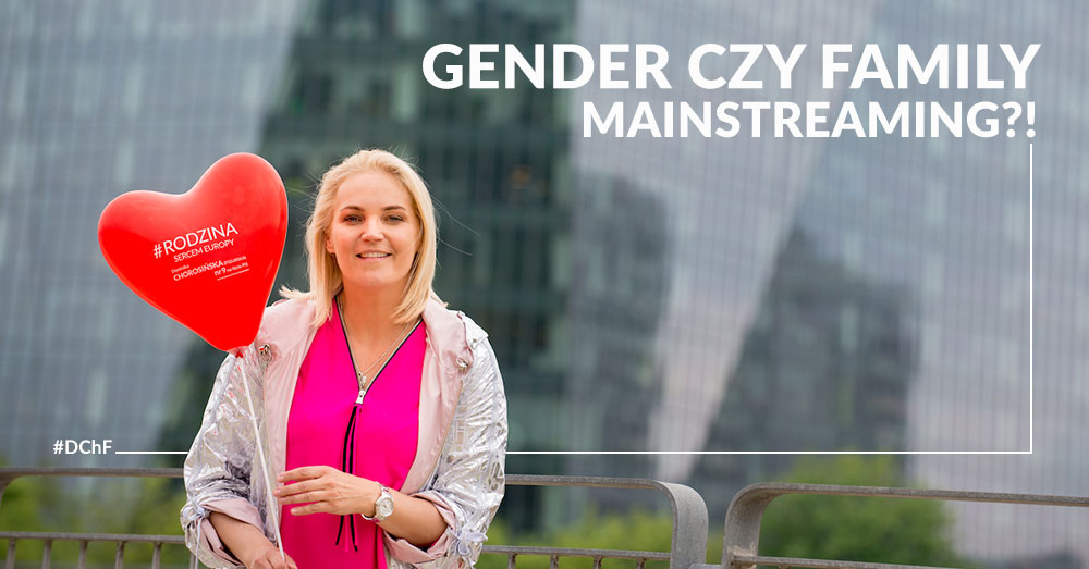 GENDER CZY FAMILY MAINSTREAMING?